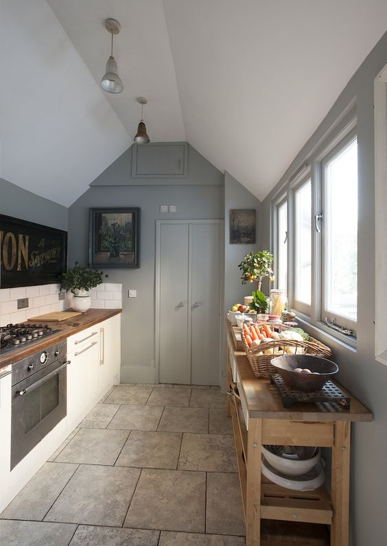 Eclectic Edwardian kitchen