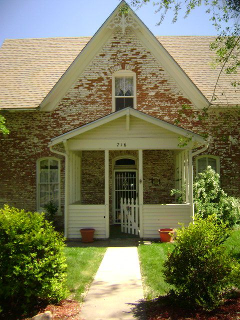 My Brick Gothic Revival House American House Styles Pinterest
