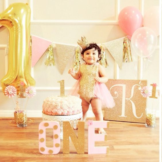 Birthday Belle in our pink and gold #sparkleromper  I truly love all your birthday photos!  Thank you so much for sharing!  You can find this style and many more handmade rompers made with fine fabrics at bellethreads.com: