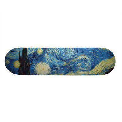 Starry Night Skateboard