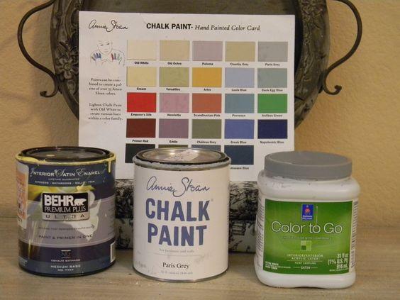 Annie sloan chalk paint vs latex paint exact ascp colors - Behr vs sherwin williams interior paint ...