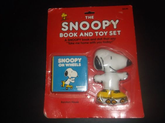 1965 Toys For Boys : Vintage quot the snoopy book and toy set peanuts