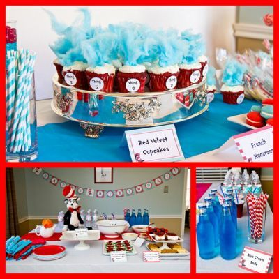 dr seuss cat in the hat birthday