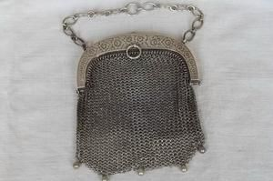 Chain Link Sterling Purse Sold for $127 Bidders 13