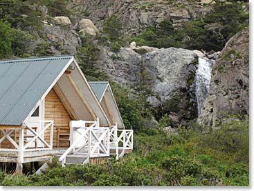 Cabin on a waterfall? HEAVEN!!