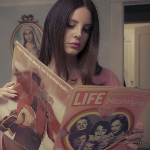 Lana Del Rey photographed by Chuck Grant, 2015.