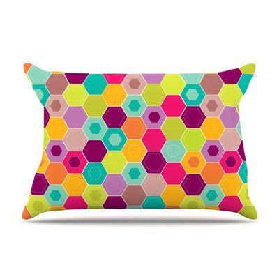 KESS InHouse Arabian Bee by Nicole Ketchum Featherweight Pillow Sham Size: