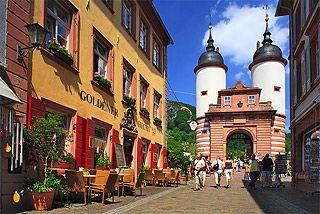 Heidelberg Germany - Heidelberg Gate