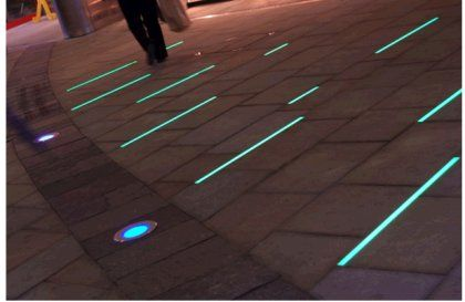 Canal Lighting Led Strip In Pavers Canal Lighting