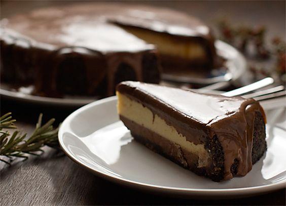 Tarta de chocolate y queso para diabéticos. Tu postre ideal