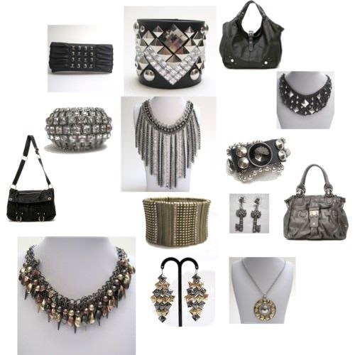 Rocker chic rocker chic style and fashion accessories on pinterest - Style rock chic femme ...
