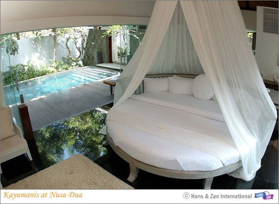 Kayumanis at Nusa Dua, Bali. Bedroom in suite...awesome!!