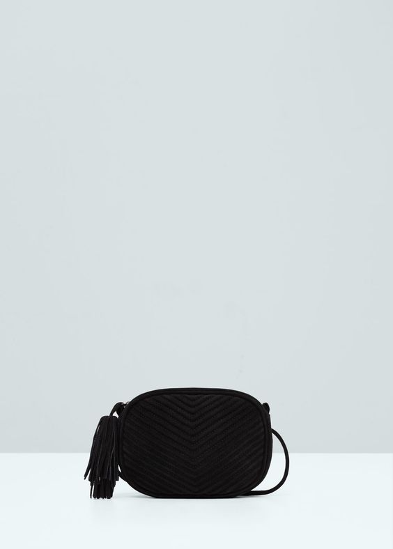 Small leather bag - Bags for Women | MANGO USA