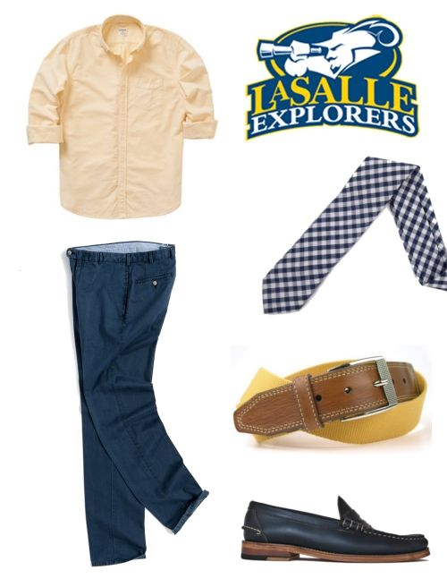 How to Dress for | A La Salle Explorers Game