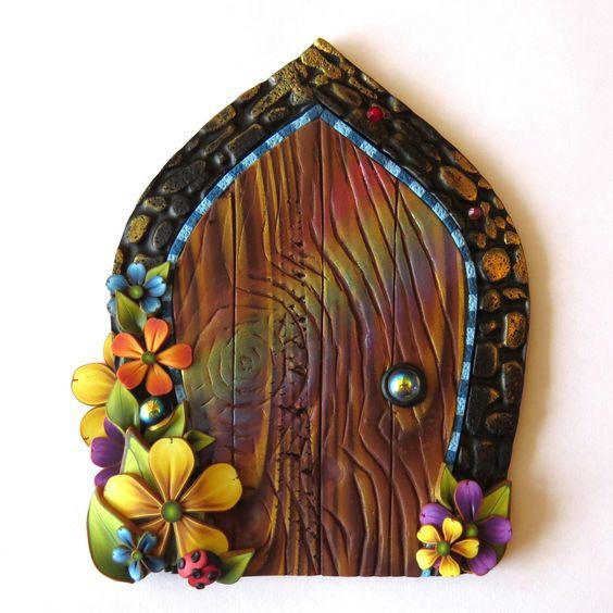 Pinterest the world s catalog of ideas for Rainbow fairy door