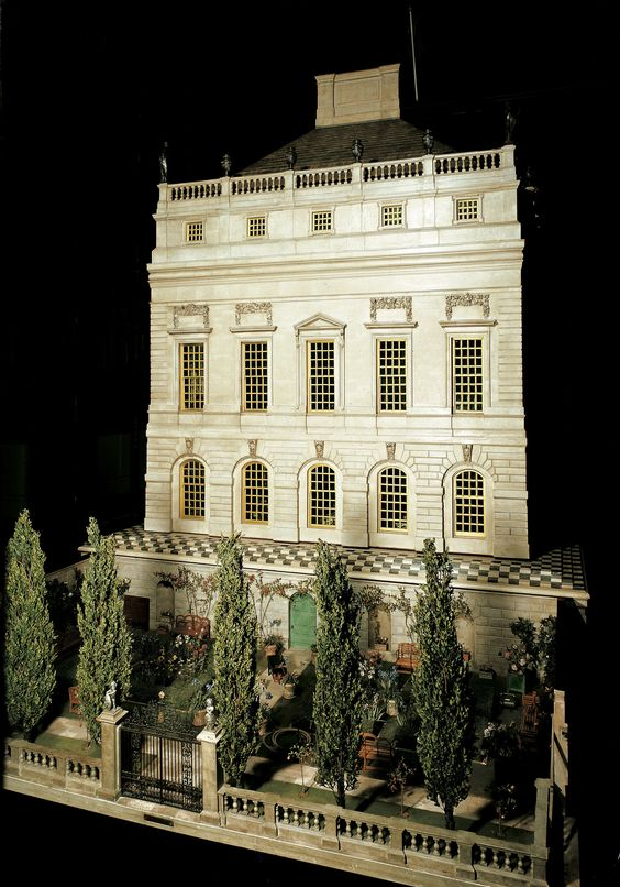 Queen Mary's Dolls' House; Creator: Sir Edwin Landseer Lutyens (1869-1944) (architect); Creation Date: 1924; Acquirer: Queen Mary, consort of George V, King of the United Kingdom (1867-1953)l Provenance: Commissioned by Princess Marie-Louise for Queen Mary, 1921-4; Contains c.1000 miniature contents.
