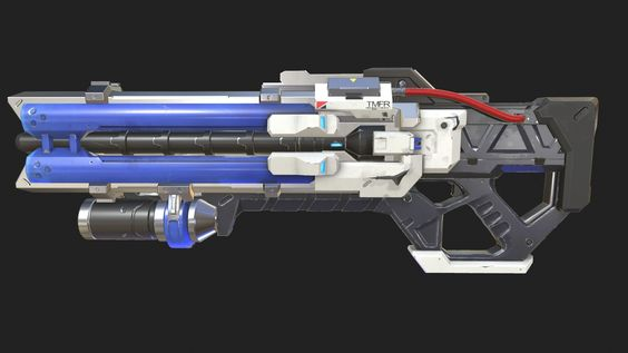 ArtStation - Overwatch - Soldier 76 Weapon Texture (WIP), Dylan Mellott | WEAPONS DESIGN ...