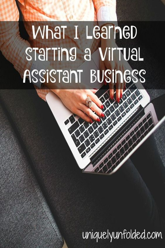 What I Learned starting a Virtual Assistant Business