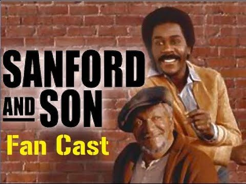 SANFORD AND SON TV SERIES POSTER 24 X 36 INCH AWESOME RED FOX