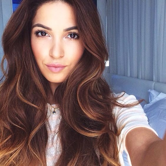 chocolate blueberry smoothie negin mirsalehi hair color pinterest m ches cheveux. Black Bedroom Furniture Sets. Home Design Ideas