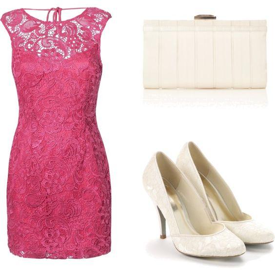 Cute pink dress.