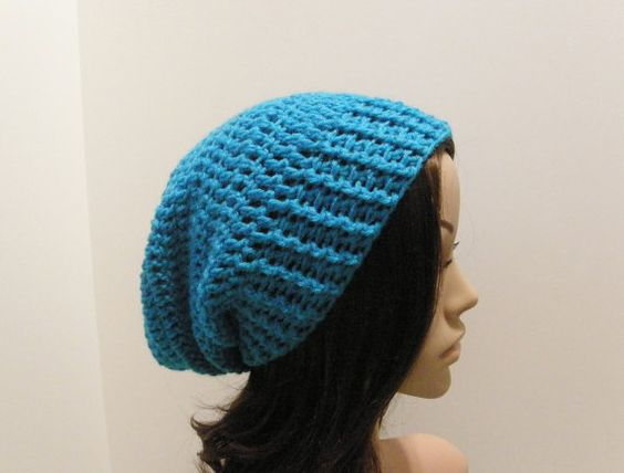 Everyday Extra Slouch Hat  Aqua