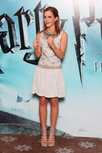 At a Harry Potter and the Half-Blood Prince photocall in London in 2009. See all of Emma Watson's best looks.