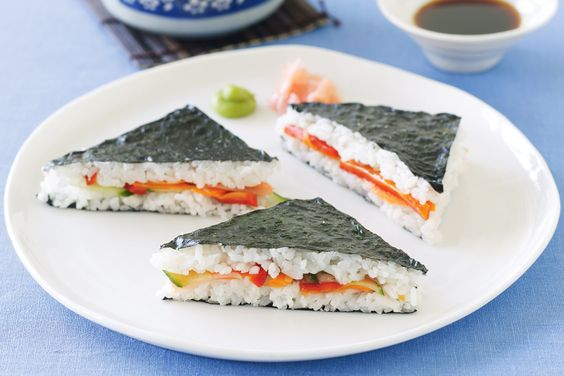 Sushi Sandwiches Recipe - Taste.com.au