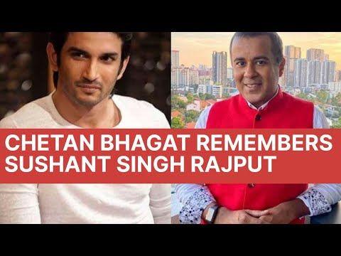 Chetan Bhagat Remembers Sushant Singh Rajput L Youtube In 2020 Sushant Singh Remember Rajput Quotes