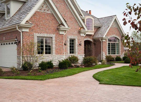 9 Popular Driveway Options To Welcome You Home Facade House