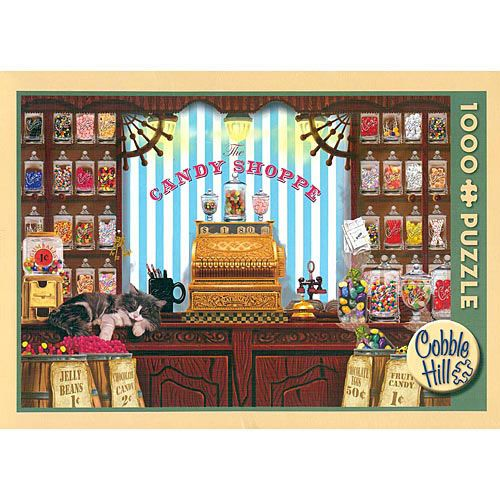 Sweets For Sale 1000 Piece Puzzle