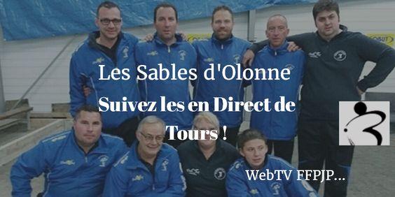 Les Sables d'Olonne : Suivez les en Direct de Tours ! PLAY https://goo.gl/tRmkUS