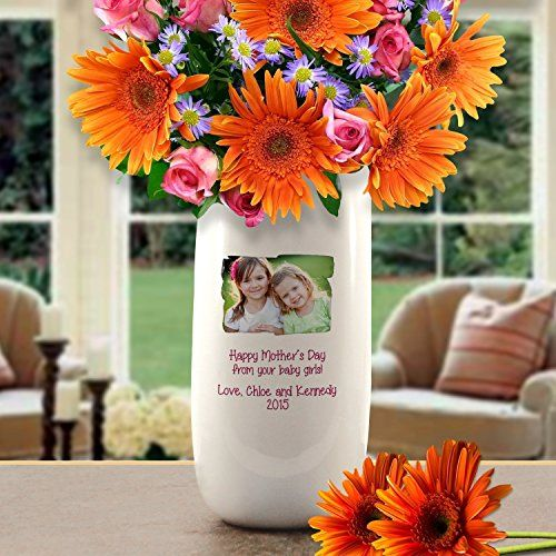 personalized flower vase about this design make sure your loved
