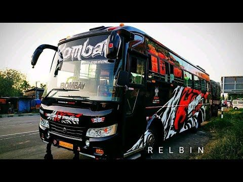 Komban Bombay On Action Kerala Tourist Bus Heavy Videos Collection