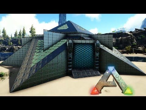 Ark S Gameplay Is Based On Taming Crafting Exploration And Of Course Building Some Of The Game S In 2020 Ark Survival Evolved Bases Ark Survival Evolved Building