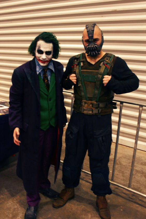 Supanova Sydney - The Joker and Bane! by heidzdee818.deviantart.com