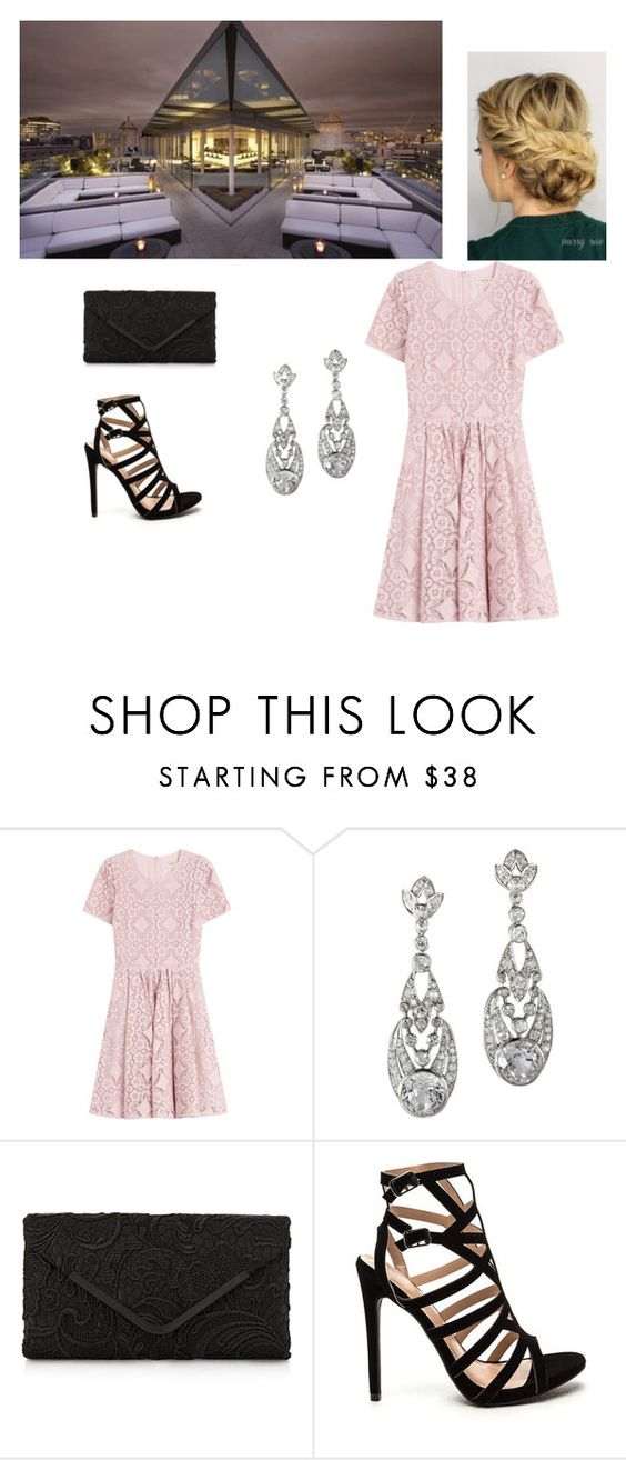 """""""Outside party"""" by gracelizn ❤ liked on Polyvore featuring Burberry and Accessorize"""