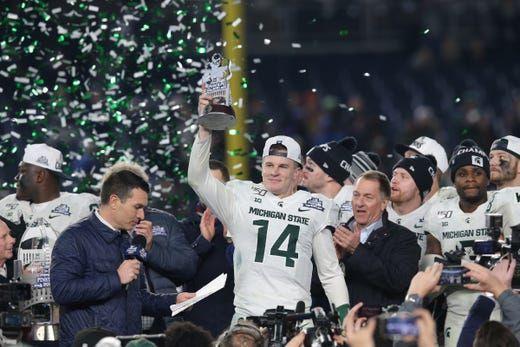 Blog Recap Michigan State Tops Wake Forest In Pinstripe Bowl 27
