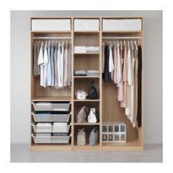 IKEA - PAX, Kleiderschrank, 200x58x236 cm, , Inklusive 10 Jahre Garantie. Mehr darüber in der Garantiebroschüre.Diese PAX/KOMPLEMENT Kombination lässt sich nach Wunsch und den häuslichen Gegebenheiten mit dem PAX Planer umgestalten.Die hierauf abgestimmte KOMPLEMENT Inneneinrichtung nutzt den Schrankraum optimal.Höhenverstellbare Fußkappen sorgen für Standfestigkeit auch bei leicht unebenem Boden.