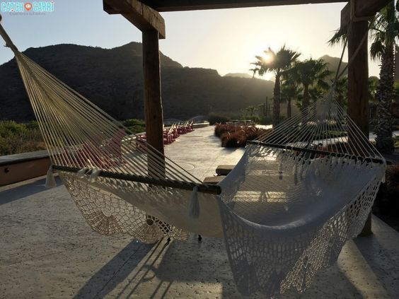 on resort in Villa del Palmar, Mexico #travel #wellness #outdoors #relax #sunset