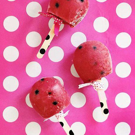 Les sucettes glacées smoothie de Minnie