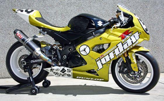 Michael Jordan Motorsports Bike