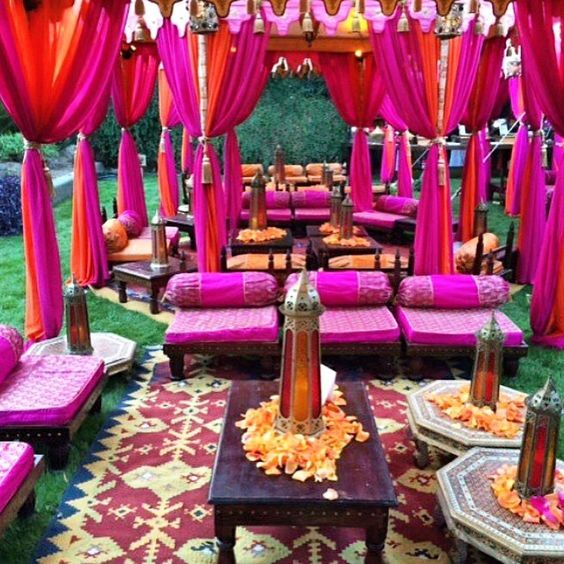 Henna Party Houston : We love this gorgeous setup by angelic grove jeff leatham