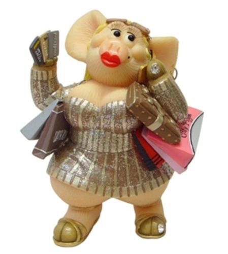 Piggin-Collectors-Figurine-High-Maintenance-14302