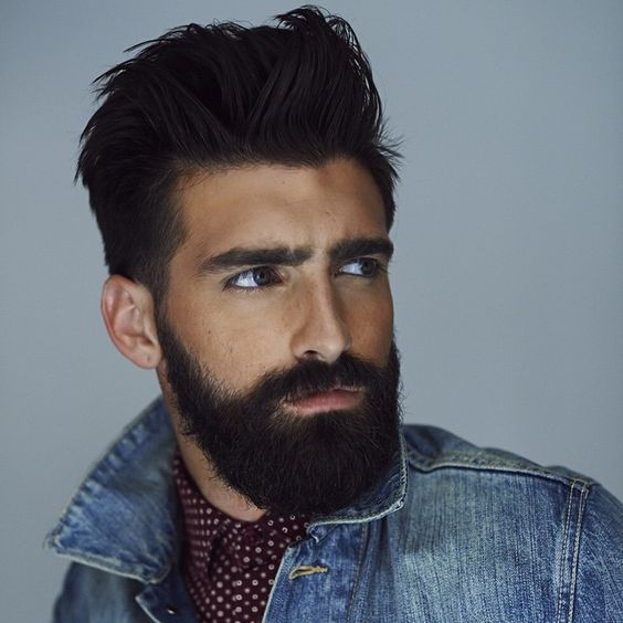 homme barbe sexy 27 coiffure hommes pinterest instagram nyc et photos. Black Bedroom Furniture Sets. Home Design Ideas