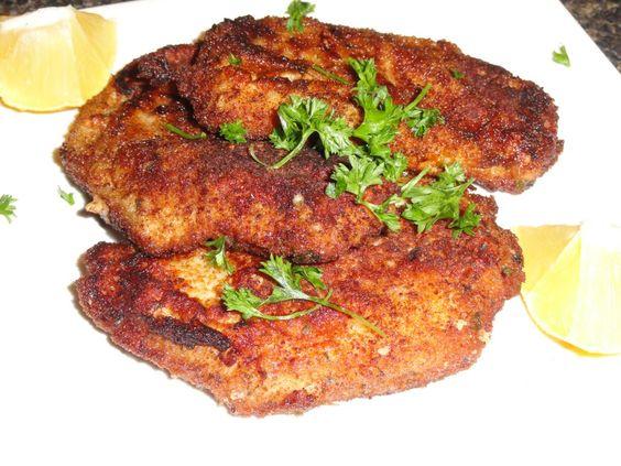 paneed pork chops: