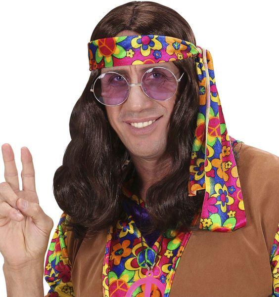Cette perruque sera parfaite pour accessoiriser votre déguisement de hippie baba cool lors d'une fête sur le thème des années 60 ou pour le Carnaval.