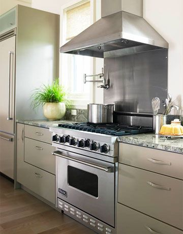 A Fresh Calm Florida Kitchen House Beautiful Stove And