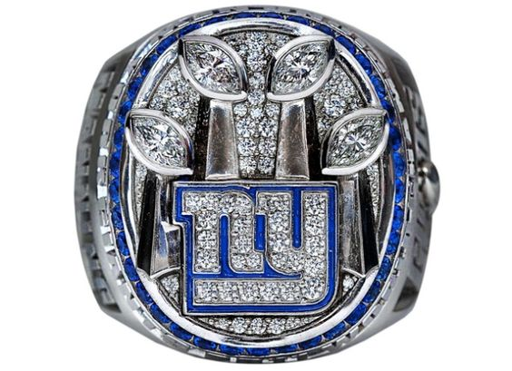The championship ring has officially been revealed! To bad we can't get an invite to the private ceremony at Tiffany's!