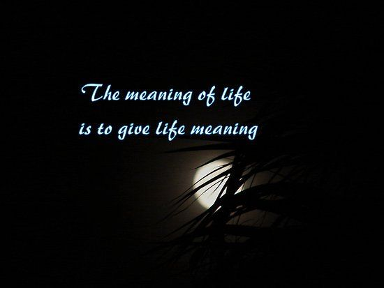meaningful life